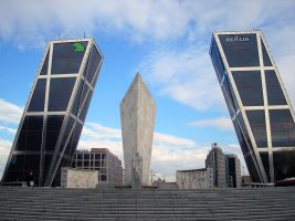 Madrid, Torres Inclinadas by mr-meth