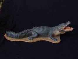 Aligator sculpt by revenant-99