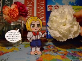 Paperchild- Hetalia Poland by Moony006