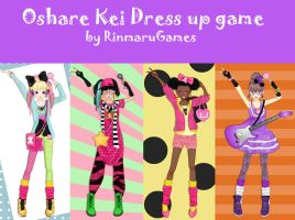 Oshare Kei dress up game by Rinmaru