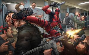 Deadpool by PatrickBrown