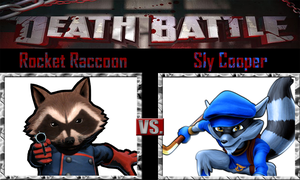 Rocket Raccoon vs Sly Cooper by SonicPal