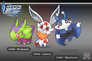 Starter Pokemon - Shinju Region by Neliorra
