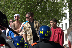 Antifa 39 EDL disgrace to uniform by derbluthund