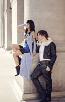 Final Fantasy VIII - Squall and Rinoa by CrystalMoonlight1