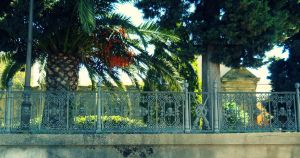 Gate of the cemetery 1 by FuriarossaAndMimma