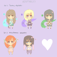 Chibi Adoptables - CLOSED by Sunny-Winter-Star