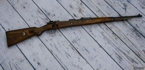 1937 Russian captured German 98k Mauser by spaxspore