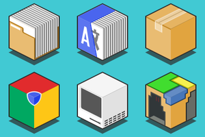 Cubic Icons by EmgrtE