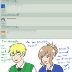Ask 1p! FrUK 5: Who Wears the Pants by Ask-2pFrUK
