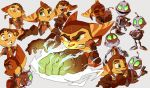 Ratchet and Clank sketches2 by Shira-hedgie