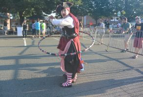 Hula Hooping Pirate by Miss-Tbones