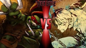 Raphael vs. Eren Jaeger Death Battle by 6tails6