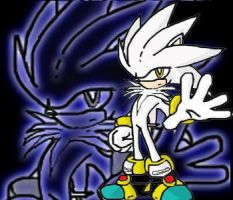 Silver The Hedgehog by shadowthephantom