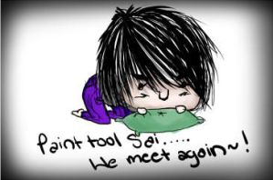 Paint Tool Sai..... We meet Again by Britty-Mae