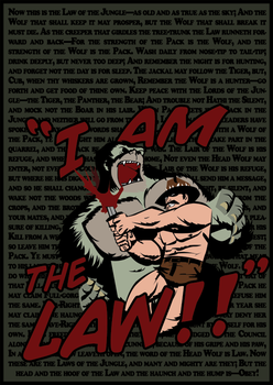 Saxton Hale is the law by Rayfe