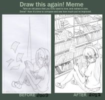 Draw this again!MEME by satsuki99