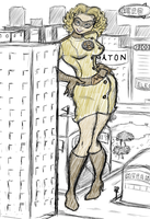 The Marvelous Misadventures of Miss Megaton by GeoLigar