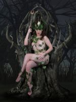 Lady of the Forest by tonyc-art