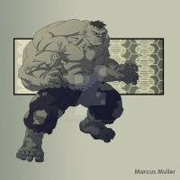 Hulk by marcusmuller