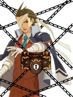 Apollo Justice: Locked up by katekyo1412