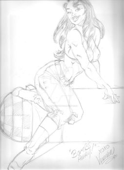 WTFC Pin Up Veronica Pink by ArtistSpike
