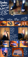 Naruto - Konoha Shoes Tutorial by Aruthe