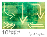 Arrow Brushes by SparklingTea
