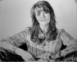 Helen Mangus: Amanda Tapping by celine52