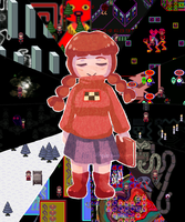 10 years of Yume Nikki by BakaNekoChanSan