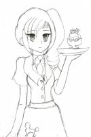 Personal Diner Gal by Chicken-Yuki