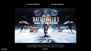 Battlefield 3: Back To The Future '2143' by wirrew