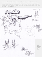 Bug Mouth Arceus Concepts by Incyray