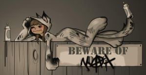 Beware Of Kat by kiska242