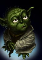 Yoda couleur by tite-pao
