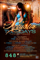 Xclusive Tuesdays Flyer by DeityDesignz