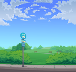 Park Stop by RedMinus
