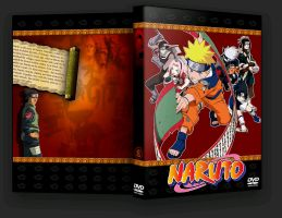Naruto DVD 1-8 by angelus-killer999