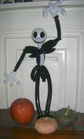 Jack Skellington in RUBBERNESS by Jester-man