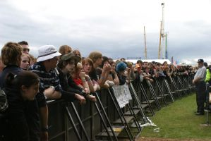 T In The Park Crowd - Barrier by Tech-Dave