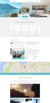 Accommodation Landing Page by themeinjection