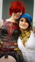 Lel + Issy - MCM Expo, Oct '11 by hollysocks