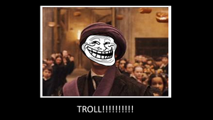 Harry Potter Troll by sasukeissohot97