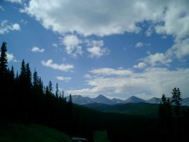 Mountain scape by bluewave-stock