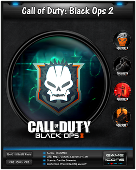 Call of Duty Black Ops 2 - Game Icon by 3xhumed