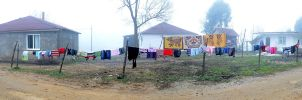 Panaroma with laundries by TanBekdemir