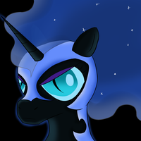 Nightmare Moon by TehRozzy
