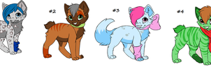 FREE Kitten Adoptables #1 (Closed!) by RosaBella200