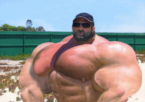 Mass Mega Muscled Daddy by MASSMANN