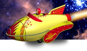 Toyrocket by mikeandrickgraphics